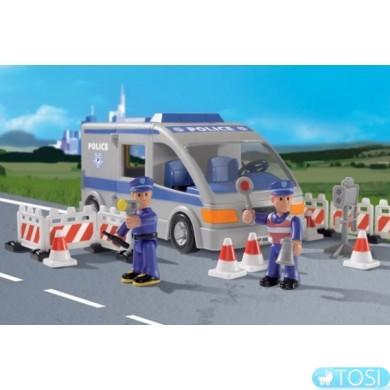 Конструктор Игровой Набор Полицейские Superplay Simba